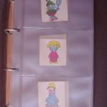 Coleccion Pegatinas Pequeñecos