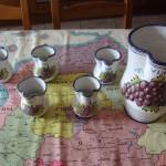 Jarras cerámica de Talavera