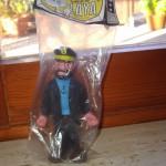 Muñeco de goma Capitán Haddock
