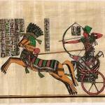 Ramses II en carro de guerra