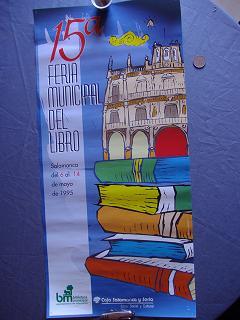 15 Feria Municipal del Libro. Salamanca 1995