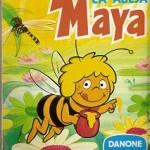 Album Cromos Las Aventuras de la Aveja Maya. Danone. 1977