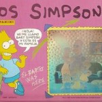 Album cromos Los Simpsons. Panini. 1991