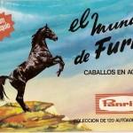 Album de Cromos. El mundo de Furia. Panrico. 1973