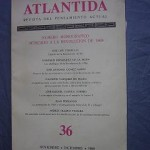 Atlantida nº 36. Noviembre-Diciembre