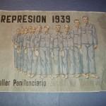 Cartel represión 1939. Taller penitenciario Alcalá de Henares