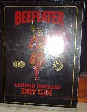 Espejo Beefeater.
