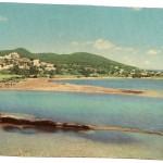 Ibiza. Santa Eulalia del Rio. Playas y desembocadura del río Balear.