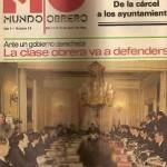 Mundo Obrero nº 18. Abril 1979