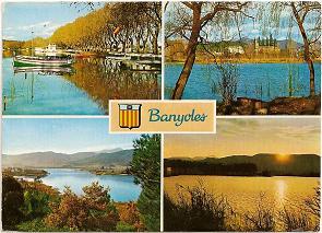 Postal Banyoles. Gerona. 1978