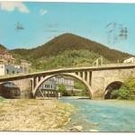 Postal Caldas de Besaya. Santander. Rio Besaya. 1966