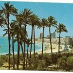 Postal Campello. Alicante.Playa la Zofra