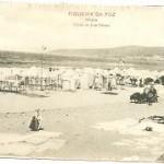 Postal Figueira Da Foz, Playa
