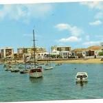 Postal Huelva. Punta Umbría. Ría.