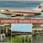 Postal Iberia Madrid Barajas.120