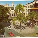 Postal Las Palmas de Gran Canaria. Plaza de Caisrasco. 1963