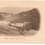 Postal Navahonda. Fabrica de Pañol. Años 20