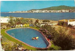 Postal San Antonio. Ibiza. 1955