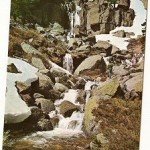 Postal Vinuesa. Soria. PIcos de Urbion. Río Laguna Negra. 1972