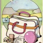 Programa Ocio-Deporte Verano 1985. Junta de Castilla y León. Dibujos de Sierra
