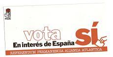 Triptico PSOE. Referendum OTAN 1986
