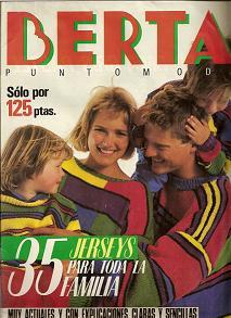 Berta punto Moda 1985