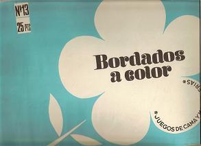 Bordados a Color. Nº 13. 1975