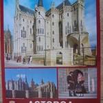 Cartel Turismo Astorga. Junta de Castilla y León. 1986