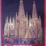 Cartel Turismo Burgos. Junta de Castilla y León. 1985
