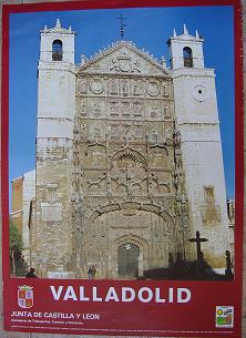 Cartel Turismo Valladolid. Junta de Castilla y León. 1985