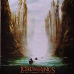 El seños de los anillos. Cartel 2 Original de la película.