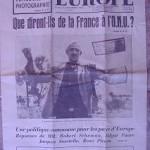 Jeune Europe 15 de diciembre de 1956