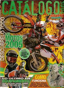 Moto Verde Catálogo 2005. Edición fuera de serie nº 4
