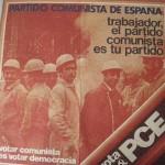Cartel Partido Comunista de España 1977