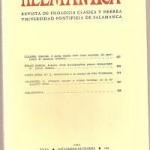 Helmantica 108 septiembre-diciembre 1984