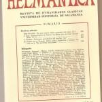 Helmantica 68 mayo agosto 1971