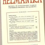 Helmantica 74. Mayo junio 1973