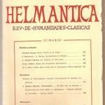 Helmantica nº 36 septiembre diciembre 1960