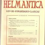 Helmantica nº 55 Enero abril 1967