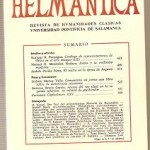 Helmantica nº 75 Septiembre diciembre 1973