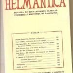 Helmantica nº 78 septiembre diciembre 1974