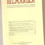 Helmantica nº 84- septiembre diciembre 1976