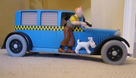 Taxi Tintin en America