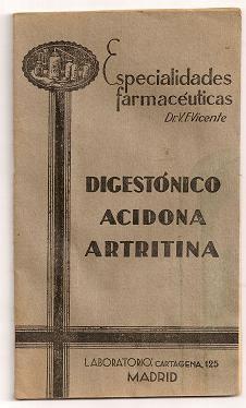 Digestónico Acidona Artritina
