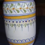 Florero cerámica Talaverana