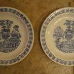 Platos ceramica Vargas Segovia