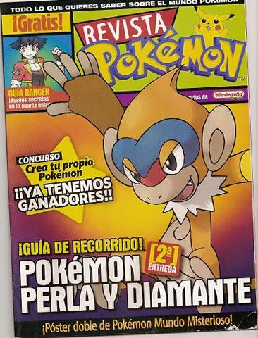 Revista Pokemon Perla y Diamante