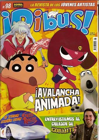 Revista  de los jóvenes artistas. Dibus nº 98