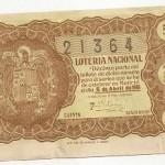 Lotería Nacional. 5 de abril de 1951 21364
