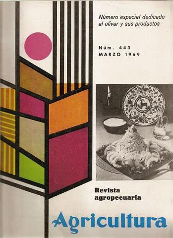 REVISTA AGRICULTURA  Nº 443 marzo 1969